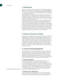 1. Über Bauwerk 2. Kriterien zur Auswahl von Parkett - Parkett-Reno