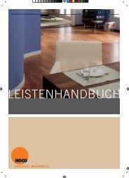 Handbuch Hoco Leisten - Parkett-Outlet