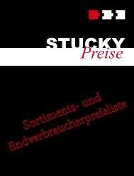 Sortiments- und Endverbraucherpreisliste - Stucky Holzprofilleisten AG