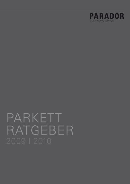 PARKETT RATGEBER