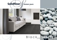 Solidfloor Black and White - Parkett-Store24