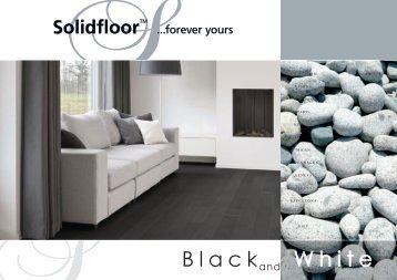 Solidfloor Black and White - Parkett-Store24