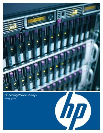 HP StorageWorks Arrays Family guide