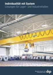 Individualität mit System Lösungen für Lager- und Industriehallen
