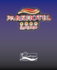 Herbstmailing 2013 - Parkhotel Bad Griesbach