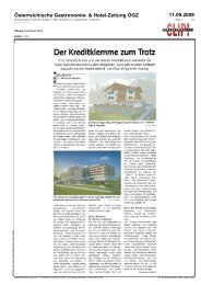 Österreichische Gastronomie- & Hotel-Zeitung ÖGZ ... - Parkhotel Igls