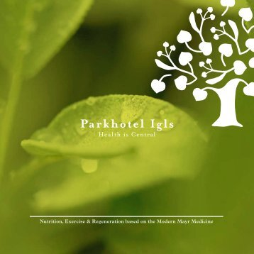 Image brochure - Parkhotel Igls