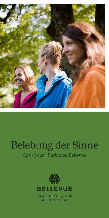 Belebung der Sinne - Parkhotel Bellevue