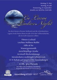Flyer La Luna Ladies Night - Best Western Parkhotel Bad ...