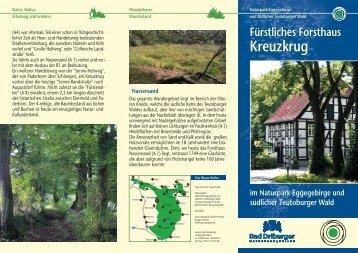 Kreuzkrug Kreuzkrug - Naturpark Teutoburger Wald / Eggegebirge