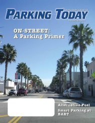 ON-STREET: A Parking Primer - Parking Today