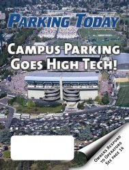 October 2004, pages 1 to 12 - Parking Today