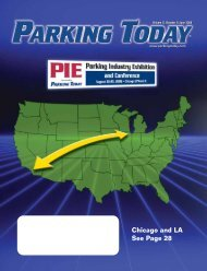 Chicago and LA See Page 28 - Parking Today