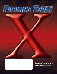 Parking Today's 10th Anniversary Issue