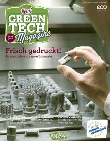 Green Tech Magazine Juni 2014 Deutsch
