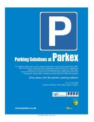 Circle #86 on Reader Service Card - Parking Today