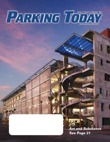 September, 2006 pages 1-14 - Parking Today