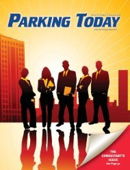 November, 2007, pages 1-17 - Parking Today