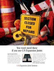 You won't need these if you use C/S Expansion Joints - Parking Today