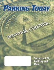 Software, POF, Auditing and More Software, POF ... - Parking Today