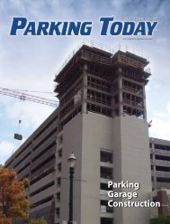June, 2007, pages 1-12 - Parking Today