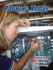 Dealers – The Heroes of Parking Technology ... - Parking Today