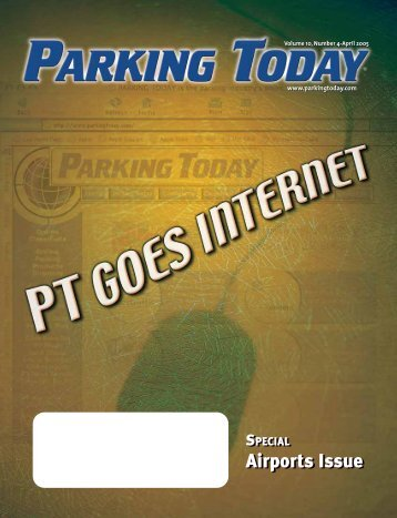 April, 2005, pages 1-16 - Parking Today