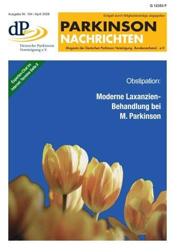 Obstipation - Deutsche Parkinson Vereinigung eV