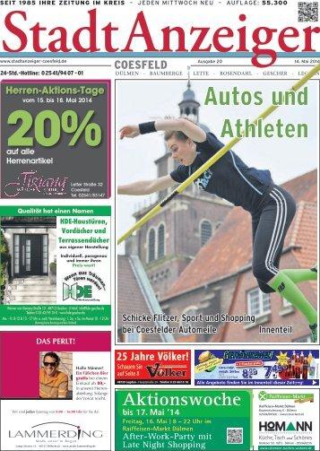 Stadt Anzeiger Coesfeld KW20