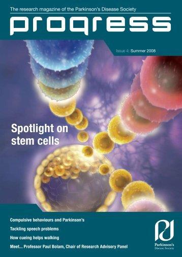 Issue 4 Summer 2008 (PDF, 1.6MB) - Parkinson's UK