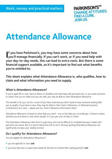 Attendance Allowance Request AndOr Waiver Of