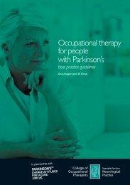Best practice guidelines - Parkinson's UK