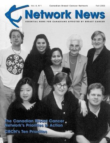 Network News — Fall 2003 (PDF 1.1Mb)