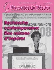 Nouvelles du Réseau - Été 2008 (PDF 1.4Mb) - CBCN/RCCS