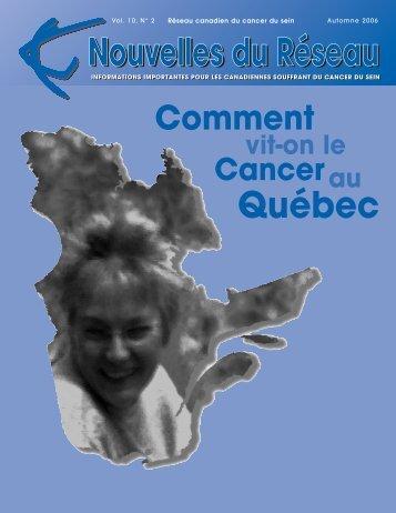 Nouvelles du Réseau - Automne 2006 (PDF 591Kb) - CBCN/RCCS