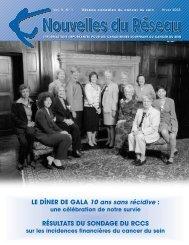 Nouvelles du Réseau — Hiver 2005 (PDF 1Mb) - CBCN/RCCS