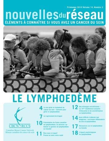 Printemps 2010 (PDF 3.29 Mb) - Canadian Breast Cancer Network