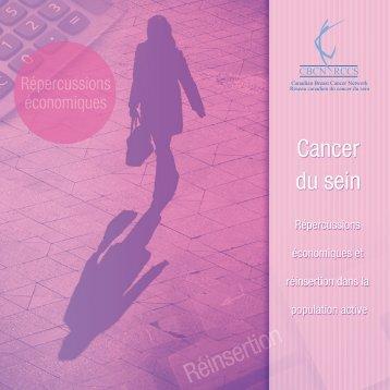 Rapport — Le cancer du sein : répercussions ... - CBCN/RCCS