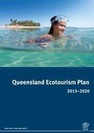 Queensland Ecotourism Plan 2013-2020 - Department of National ...