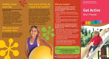 Get Active Murri People - Department of National Parks, Recreation ...