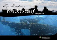 The Brisbane Wreck to Reef ...one year on booklet - Queensland ...