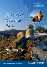 Girraween National Park Management Plan 2010 - Department of ...
