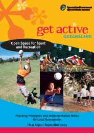 Open Space for Sport and Recreation - Planning Principles and ...