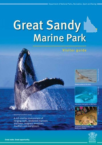 Great Sandy Marine Park Visitor Guide - Department of National ...