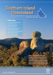 Southern Inland Queensland Visitor guide - Department of National ...