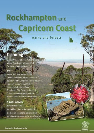 Rockhampton and Capricorn Coast parks and forests visitor guide