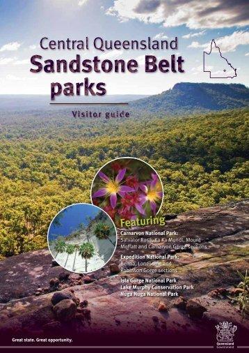 Central Queensland Sandstone Belt parks visitor guide (PDF, 4.0M)