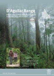 D'Aguilar Range parks guide - Department of National Parks ...