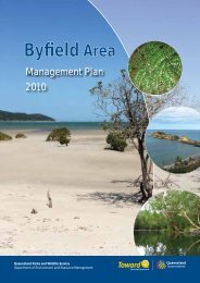 Byfield Area Management Plan 2010 - Department of National Parks ...