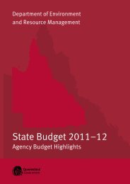 DERM 2011-12 Agency Highlights - Queensland Government